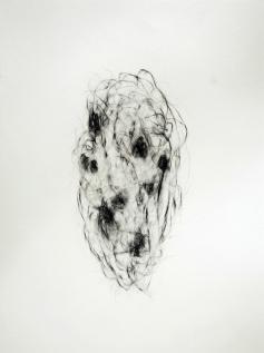 """""""L'Affaire"""", 2010, mine de plomb sur papier, 42 x 30 cm."""