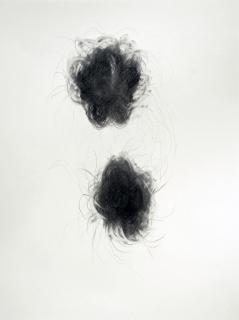 """""""Relation"""", 2010, mine de plomb sur papier, 42 x 30 cm."""