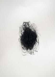 """""""Pouf"""", 2010, mine de plomb sur papier, 42 x 30 cm."""