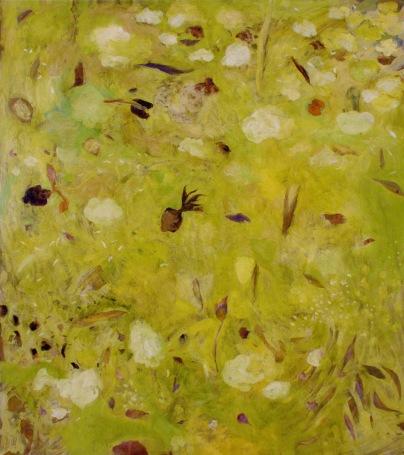 """""""Petite nature"""" 2006, huile sur toile, 190 x 170 cm"""