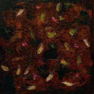 s.t. 2007, huile sur bois, 20 x 20 cm.