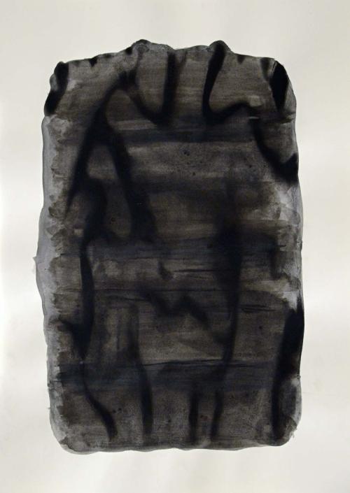 """""""Mine"""" 2012, mixte sur papier"""
