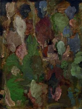 """Jardin"" 2014, mixte sur papier"