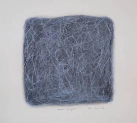 """""""Mon Chagrin"""", 2006, mixte sur papier, 20 x 20 cm"""