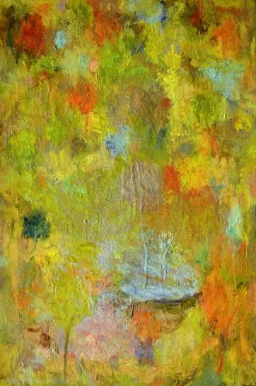 2017 2018, huile sur toile, 70 x 47 cm.