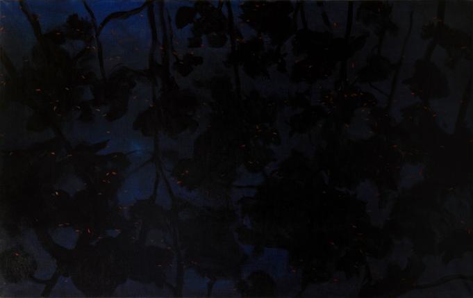 Huile sur toile, 2015 _ 2016, 120 x 190 cm